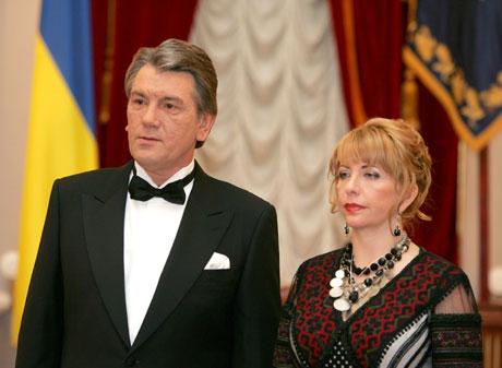 Ющенко отобрал у своей жены звание