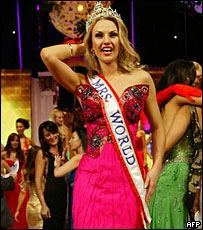 Украинка стала «Миссис Мира-2008» (ФОТО)