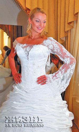 Фото свадебное платье волочковой