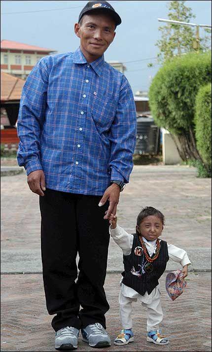Самый маленький человек в мире фото