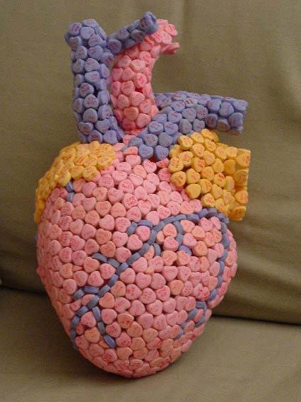 Человеческое сердце своими руками