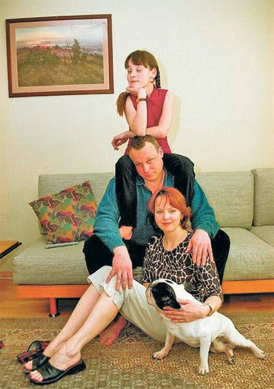 Прежнее семейное счастье жигуновых