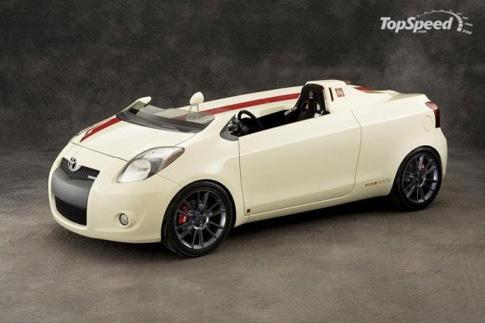 """Самой оригинальной моделью Toyota из представленных на выставке SEMA автомобилей называют одноместный  """"спидстер """"..."""