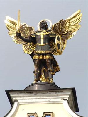 Киев может потерять своего архангела-хранителя