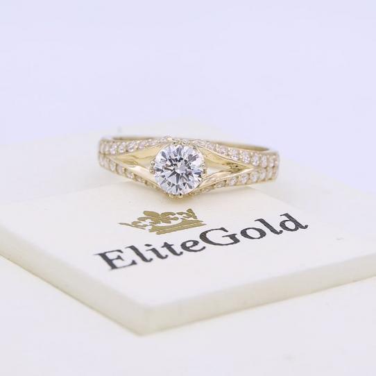 помолвочное кольцо от elitegold