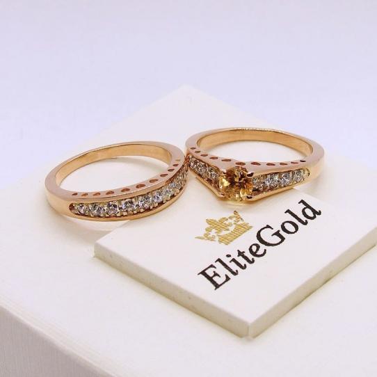 кольцо на помолвку сет от elitegold