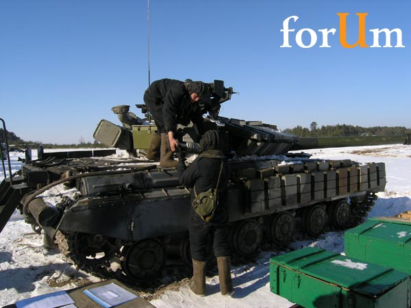 Министр Гриценко - первая инспекция войск