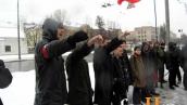 Киевские нацболы пикетируют Черномырдина