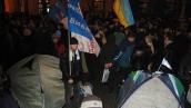 Бело-голубые на майдане