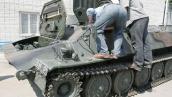 Распродажа излишков армейского имущества в одной из частей Львовщины