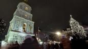 В Киеве зажгли главную новогоднюю елку страны