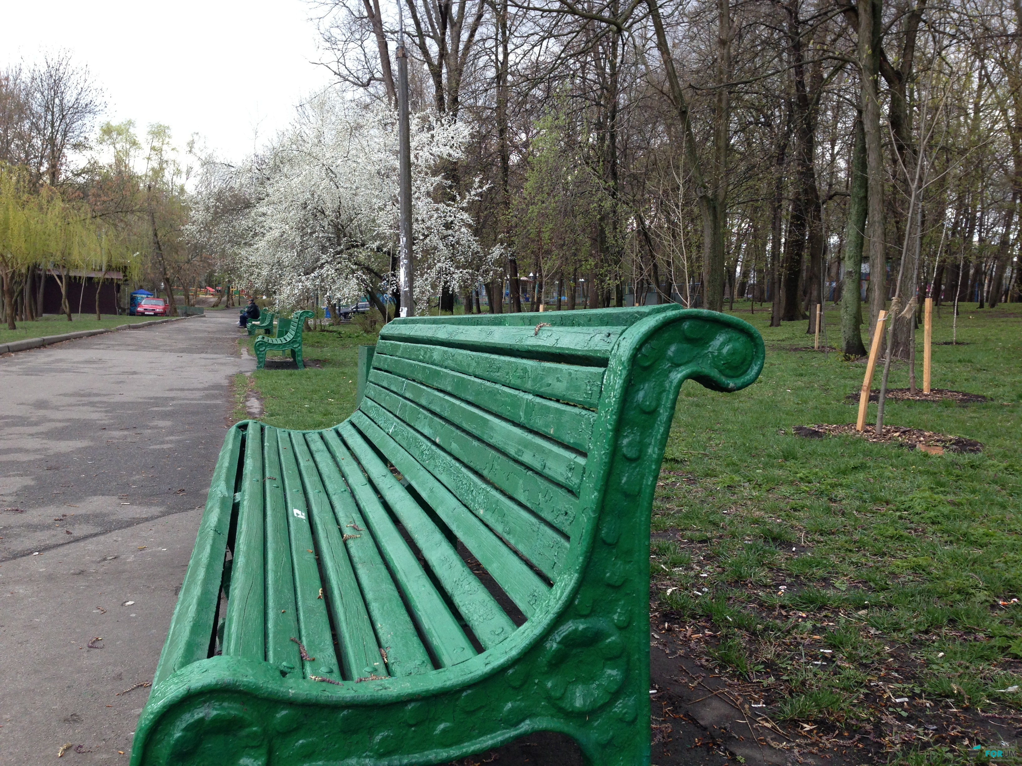 Апрельский Киев: холод, дождь и солнце