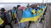 «Живая цепь» соборности в Киеве