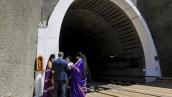Открытие Бескидскйого тоннеля