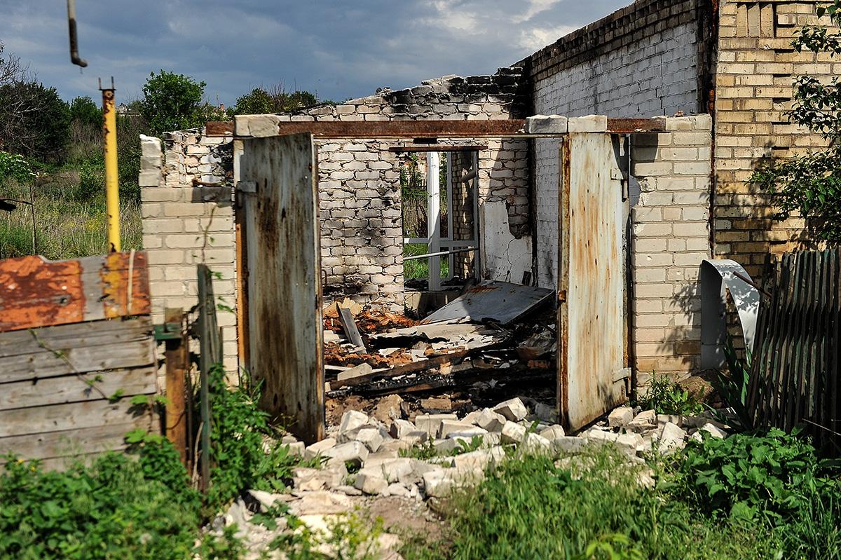 Турчинов посетил зону проведения ООС
