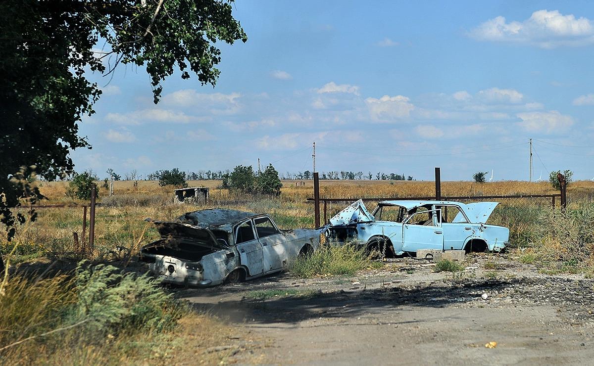 Визит Турчинова в район проведения ООС