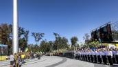 В Днипре подняли самый большой флаг Украины
