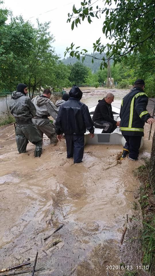 Паводок в Карпатах