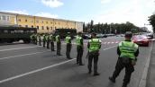Захват бизнес-центра в Киеве