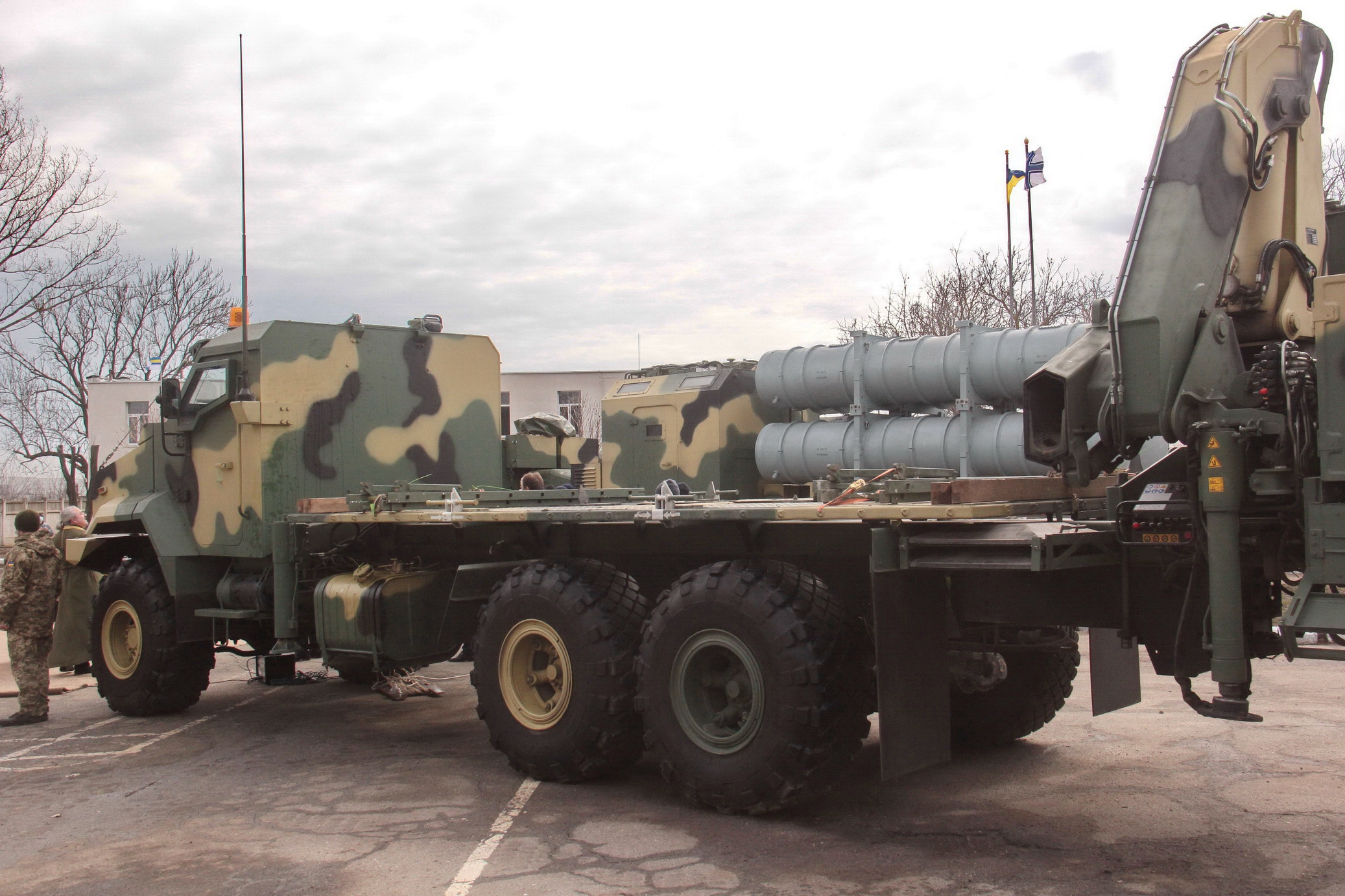 Передача ракетного комплекса «Нептун» ВМС