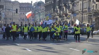 Финал акции «Бегом на Майдан»