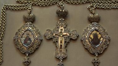Выставка «Возрожденные сокровища Киево-Печерской Лавры»