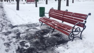 Снігопад у Києві