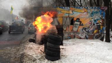 Блокада автомобілістів у Києві