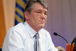 Yushchenko decorated Lech Valensa with Order of Yaroslav the Wise