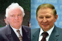 Kuchma and Shevardnadze had a discussion in Tbilisi