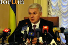 Litvin calls to support Yushchenko's position