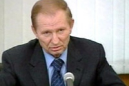 Kuchma backs Yushchenko in Ukraine turmoil