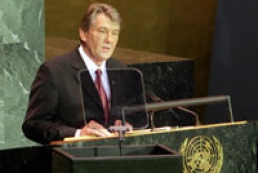 Yushchenko's speech at UNO Session