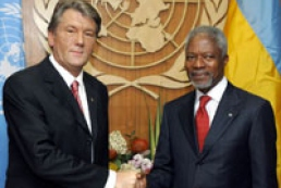 President met with Kofi Annan