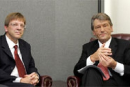 Yushchenko met with Belgian PM