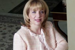 First Lady Katerina Yushchenko held reception in New York