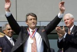President received Philadelphia Liberty Medal