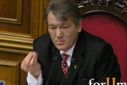 Yushchenko explains resignation of previous Govt with mainly economic reasons