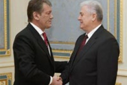Moldavian President arrived in Kiev to talk with Yushchenko