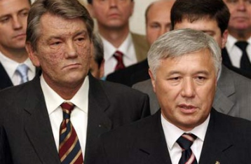 Yushchenko congratulated Yekhanurov with the appointment
