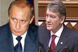 President speaks with Vladimir Putin
