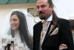 Yevhenia Timoshenko married British rock singer on Sunday