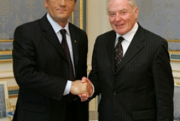 Yushchenko met with Irish Speaker Rory O'Hanlon