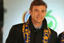 Ukrainians honour National Football Team