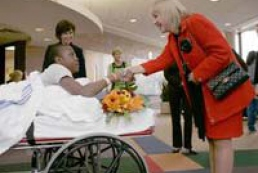Ukraine's First Lady visited Chicago hospitals