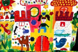 The children's picture contest to be held in Ukraine