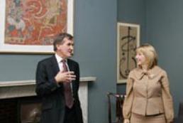 Kateryna Yushchenko met British Museum Director