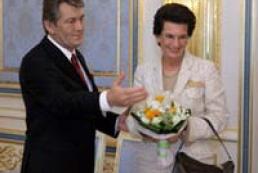 President Yushchenko met with Nino Burjanadze
