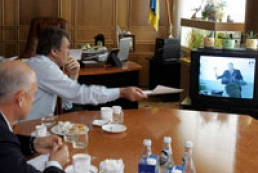 The President of Ukraine satisfies with Kryvorizhstal auction