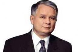 New President of Poland Lech Kaczynski to visit Ukraine
